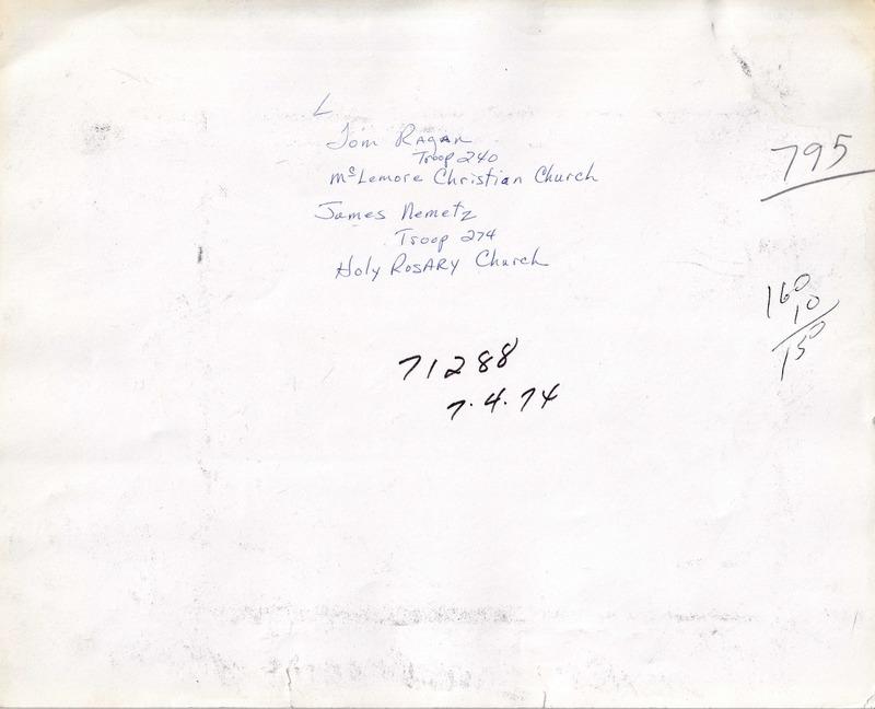 1974 (7-4-74) - Tom Ragan (T240), James Nemetz (T274)  [Press-Scimitar](REVERSE).tiff