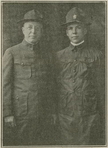 1920 (02/26/1920) Scouting Magazine: Bolton Smith and Son in Uniform
