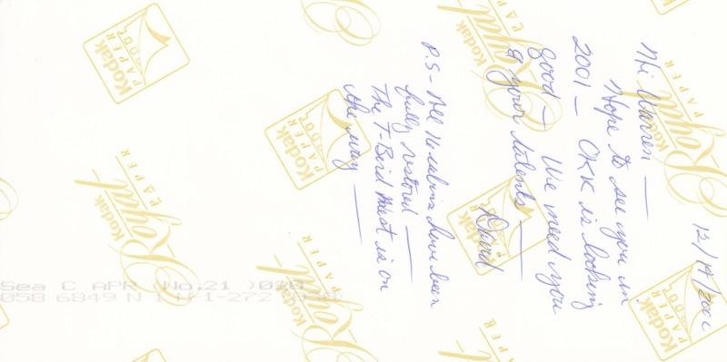2000 - OKKPA Holiday Postcard (Back).tif