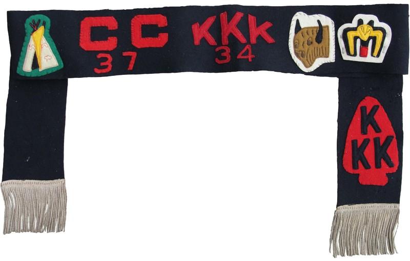 1934 Kia Kima Camper/1937 Camp Currier Sash
