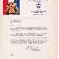 1941 (9-23-41) - Letters regarding Potential Sale of Kia Kima to Eastern Arkansas Council [Dalstrom].pdf