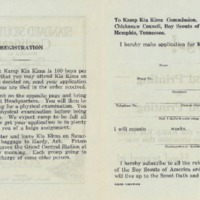 1928 Kia Kima Camper Application