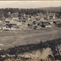1920c Postcard: Bird's Eye View of Hardy