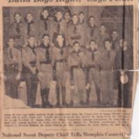 1939 (12/12/1939) Press Scimitar: Recent Eagle Scouts