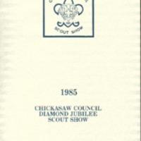 1985 - Chickasaw Council Scout Show Program.pdf