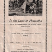 1928 - 'In the Land of Hiawatha' Memphis Girl Scouts & Boy Scouts American Indian Educational Program.pdf