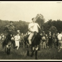 "1926 Photo: July 5 ""Roney wins the race"""