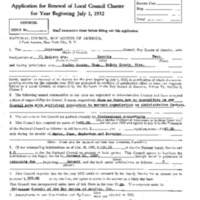 1932 Chickasaw Council Recharter & Annual Report