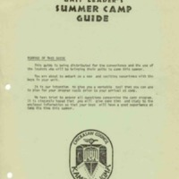 1971 Kia Kima Leaders Guide