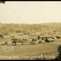 1920 Photo: Hardy from Spring River