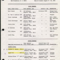 1970 WB Course 558-1 Camp Currier