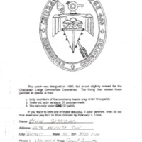 http://www.kiakimamuseum.org/plugins/Dropbox/files/1994 - Chickasah Lodge Ceremonies Patch Order Form.pdf