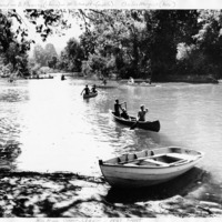 1951 August Canoeing Class.jpg