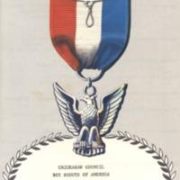 http://kiakimamuseum.org/plugins/Dropbox/files/Chick - 1963 Eagle Scout Dinner Program.pdf