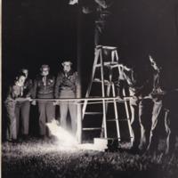 1962 Photo: Paul Bunyan Fire-Making