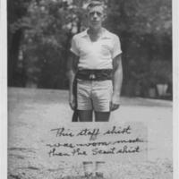 1935 Photo: Kia Kima Staff Shirt