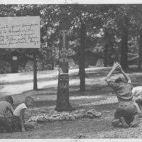 1935 Photo: Kia Kima Totem Pole